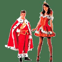 Костюмы короля и королевы