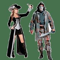 Костюмы пиратов на Хэллоуин