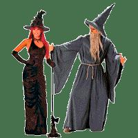 Костюмы ведьм  на Хэллоуин