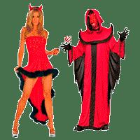 Костюмы дьяволов  на Хэллоуин