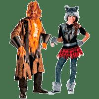 Костюмы оборотней на Хэллоуин