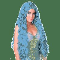 Синие парики