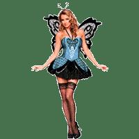 Женские костюмы бабочек