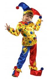 Детский костюм петрушки