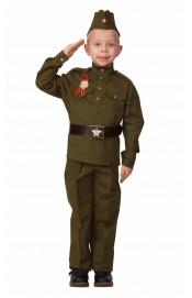 Костюм русского солдата для мальчика